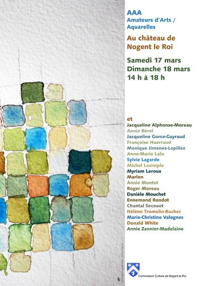 Exposition d'aquarelles - 2012